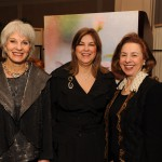 Hadassah President Debra Levine (center) with Women of Courage Co-Chairs Linda Rubenfeld (L) and Joy Blog (R)